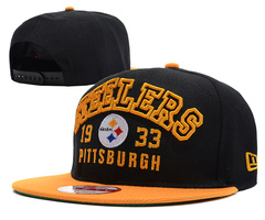Pittsburgh Steelers NFL Snapback Hat SD09