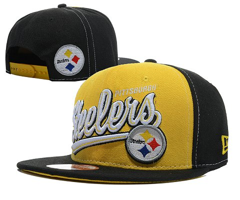 Pittsburgh Steelers NFL Snapback Hat SD11
