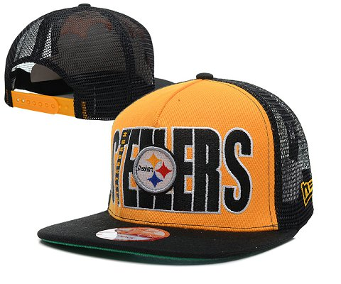 Pittsburgh Steelers NFL Snapback Hat SD13