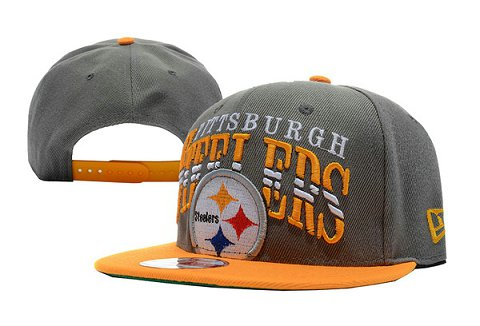 Pittsburgh Steelers NFL Snapback Hat TY 3