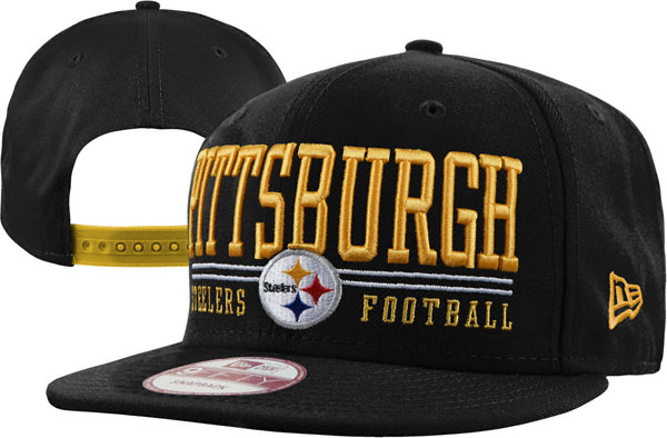 Pittsburgh Steelers NFL Snapback Hat XDF008