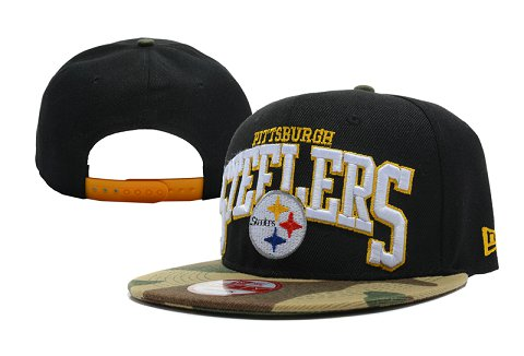 Pittsburgh Steelers NFL Snapback Hat XDF117