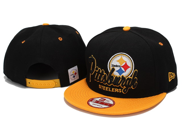 Pittsburgh Steelers NFL Snapback Hat YX201