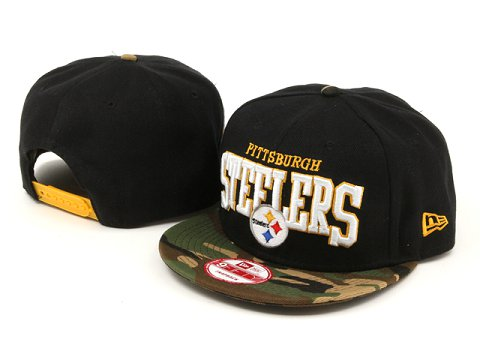 Pittsburgh Steelers NFL Snapback Hat YX213