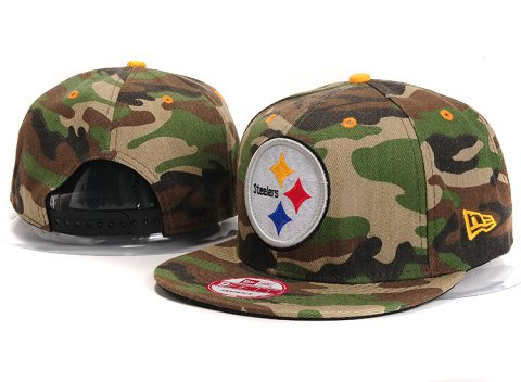 Pittsburgh Steelers NFL Snapback Hat YX287