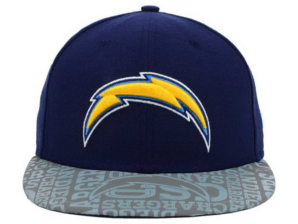 San Diego Chargers Blue Snapback Hat XDF 0528