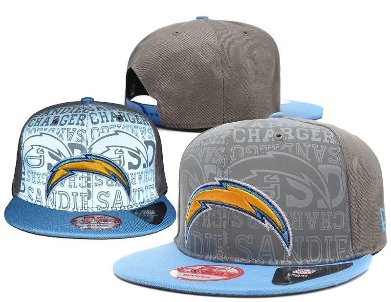 San Diego Chargers Reflective Snapback Hat SD 0721