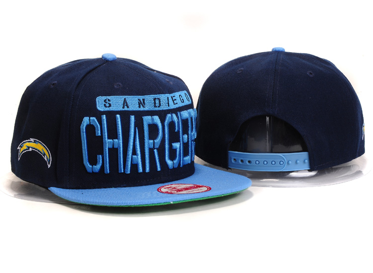 San Diego Chargers Snapback Hat YX 8321
