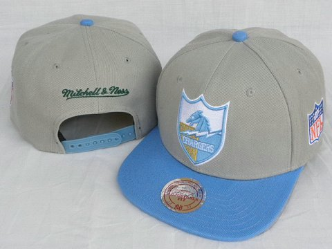 San Diego Chargers Mitchell&Ness Snapback Hat DD 0003