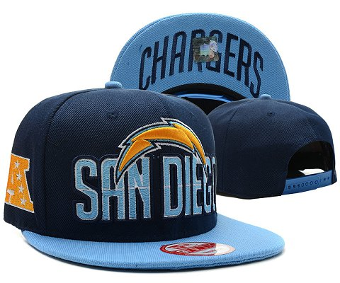 San Diego Chargers NFL Snapback Hat SD1
