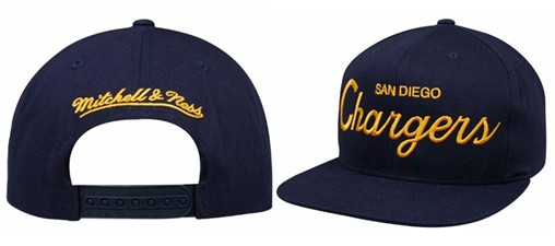 San Diego Chargers NFL Snapback Hat Sf2