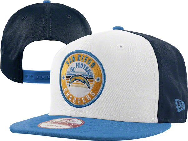 San Diego Chargers NFL Snapback Hat XDF072