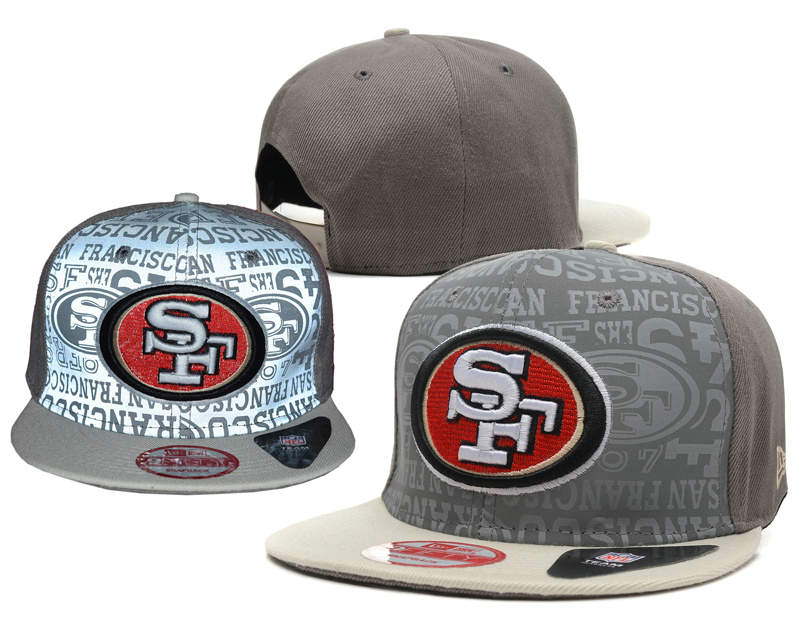San Francisco 49ers Reflective Snapback Hat SD 0721