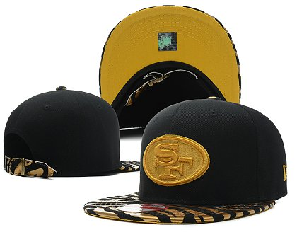 San Francisco 49ers New Style Snapback Hat SD 807