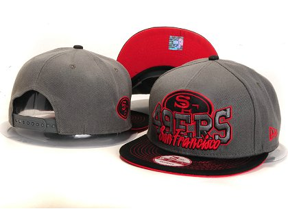 San Francisco 49ers New Type Snapback Hat YS 6R19