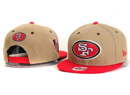 San Francisco 49ers New Type Snapback Hat YS 6R22