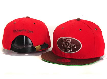 San Francisco 49ers New Type Snapback Hat YS 6R34