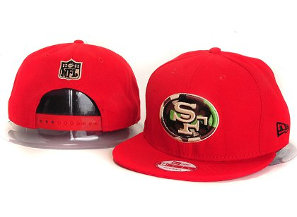 San Francisco 49ers New Type Snapback Hat YS 6R42