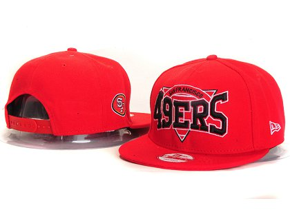 San Francisco 49ers New Type Snapback Hat YS 6R57