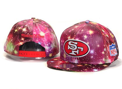 San Francisco 49ers New Type Snapback Hat YS A705