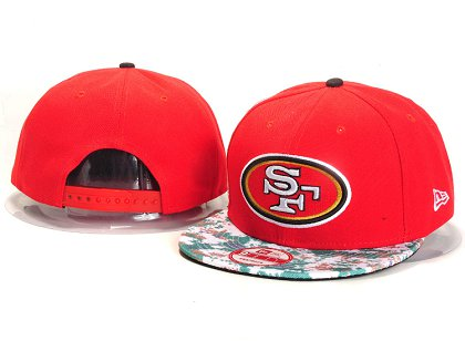 San Francisco 49ers New Type Snapback Hat YS A717