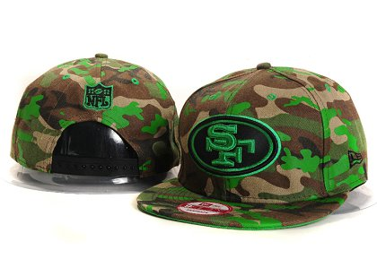San Francisco 49ers New Type Snapback Hat YS910