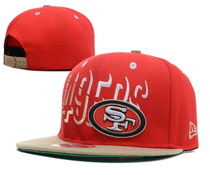 San Francisco 49ers Snapback Hat SD 1s31
