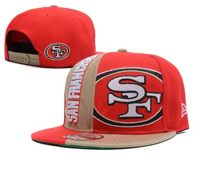 San Francisco 49ers Snapback Hat SD 1s37