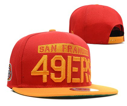 San Francisco 49ers Snapback Hat SD 1s41