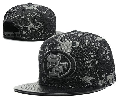 San Francisco 49ers Snapback Hat SD 8708