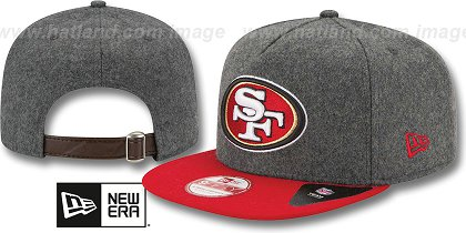 San Francisco 49ers-Melton Snapback Hat SF 12