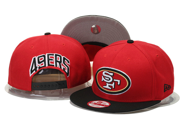 San Francisco 49ers Snapback Red Hat GS 0620