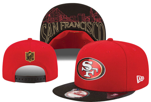 San Francisco 49ers Snapback Red Hat XDF 0620