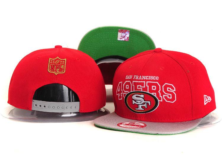 San Francisco 49ers Red Snapback Hat YS