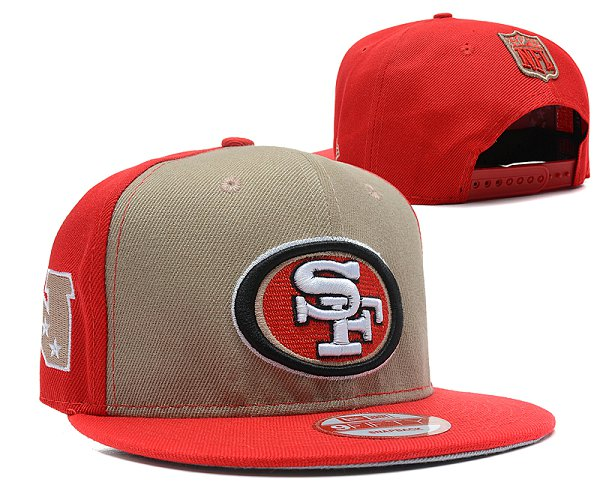 San Francisco 49ers Snapback Hat SD 2815