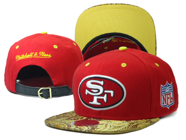 San Francisco 49ers Snapback Hat SF 05