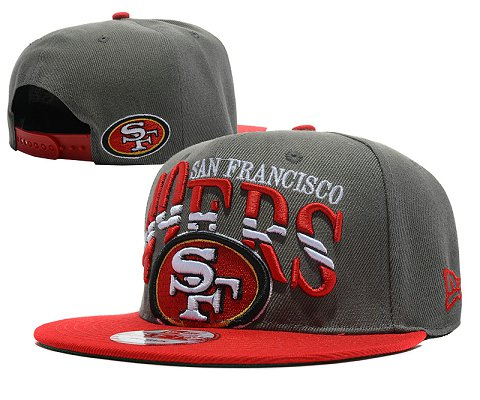 San Francisco 49ers NFL Snapback Hat SD01