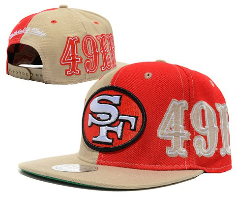 San Francisco 49ers NFL Snapback Hat SD04