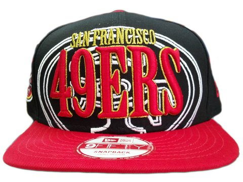 San Francisco 49ers NFL Snapback Hat SD06