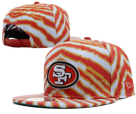 San Francisco 49ers NFL Snapback Hat SD08