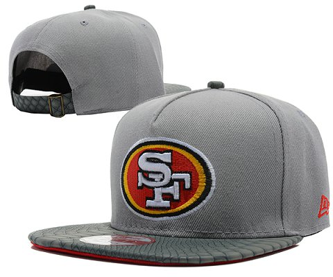 San Francisco 49ers NFL Snapback Hat SD09