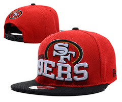 San Francisco 49ers NFL Snapback Hat SD10