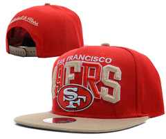 San Francisco 49ers NFL Snapback Hat SD11