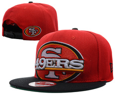 San Francisco 49ers NFL Snapback Hat SD13
