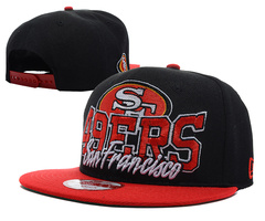 San Francisco 49ers NFL Snapback Hat SD14
