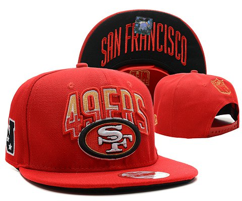 San Francisco 49ers NFL Snapback Hat SD17
