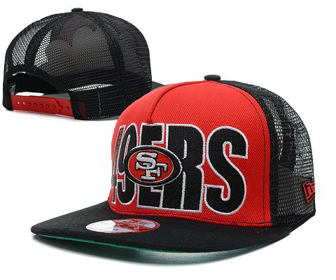 San Francisco 49ers NFL Snapback Hat SD18