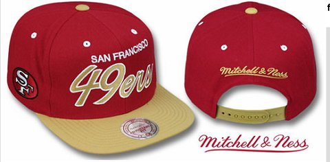 San Francisco 49ers NFL Snapback Hat Sf2