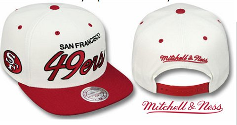 San Francisco 49ers NFL Snapback Hat Sf3