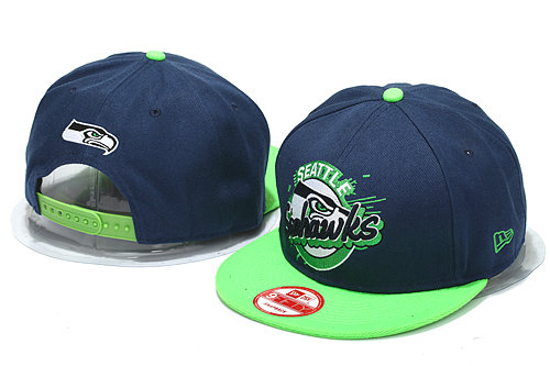 Seattle Seahawks Blue Snapback Hat YS 0512